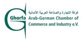 Logo der Ghorfa Arab-German Chamber of Commerce and Industry e. V.