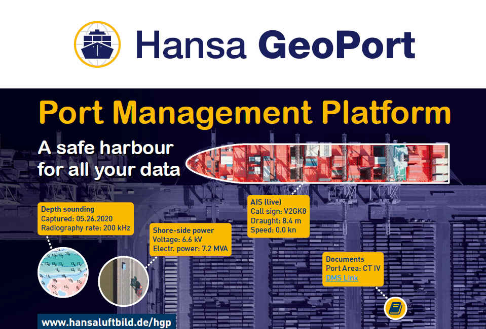 Hansa GeoPort features